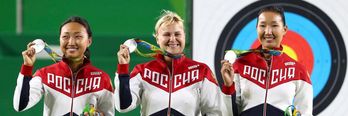 У России серебро на Олимпиаде в Рио в 2016г.